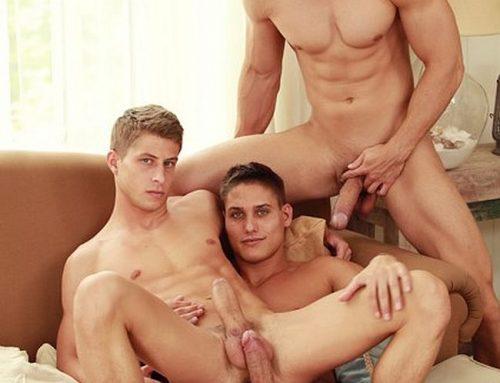 Vadim, Jack & Kris All Star Threeway  | Belami!